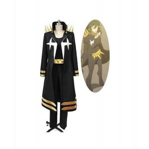 KILL la KILL : Haute Qualité Uzu Sanageyama Noir Uniforme Costumes Cosplay