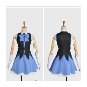 Kyoukai No Kanata : Nase Mitsuki Cosplay Bleu Clair Idole Costume Acheter