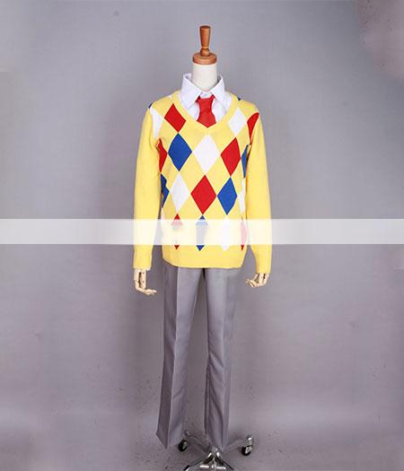 Kyoukai No Kanata : Jaune Pull Costume Kanbara Akihito Cosplay Acheter