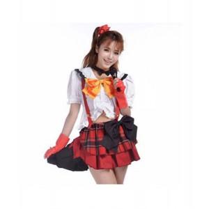 LoveLive! : Blanc Et Rouge Adolescente Costume Honoka Kousaka Cosplay Acheter