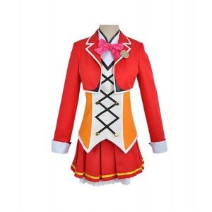 LoveLive! : Haute Qualité Rouge Plasticité Honoka Kousaka Costume Cosplay