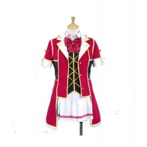 LoveLive! : Rouge Strip Court Costume Honoka Kousaka Cosplay