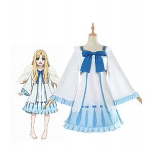 The Rising of the Shield Hero : Filo Bleu Clair Robe Costume Cosplay