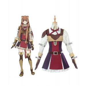 The Rising of the Shield Hero : Full Set Raphtalia Costume Cosplay