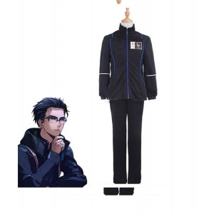 Yuri On Ice : Bleu Sport Kits Yuri Katsuki Costume Cosplay Acheter
