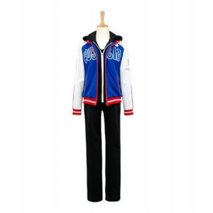 Yuri On Ice : Haute Qualité Bleu Uniforme Manteau Yuri Plisetsky Costume Cosplay Achat