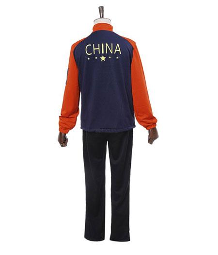 Yuri On Ice : Full Set Guang Hong Ji Costume Cosplay Vente Pas Cher