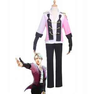 Yuri On Ice : Rose Manteau Victor Nikiforov Costume Cosplay Acheter