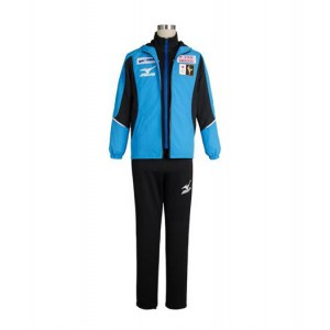 Yuri On Ice : Haute Qualité Yuuri Katsuki Bleu Manteau Costume Cosplay
