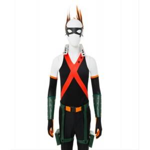 Boku no Hero Academia : Bakugou Katsuki Cosplay Costume de Combat