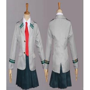 Boku No Hero Academia : Asui Tsuyu Uniforme Cospaly