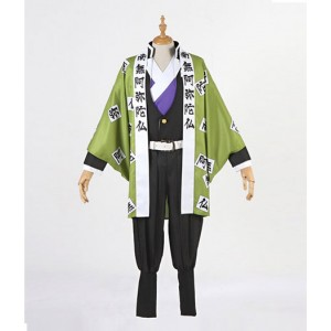 Demon Slayer : Kimetsu no Yaiba Himejima Kyoumei Ensemble Complet Costume Cosplay