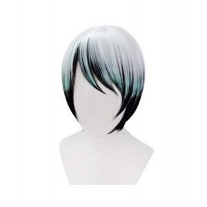 Demon Slayer : Kimetsu no Yaiba Yushirou Vert Foncé Wig Cosplay Acheter