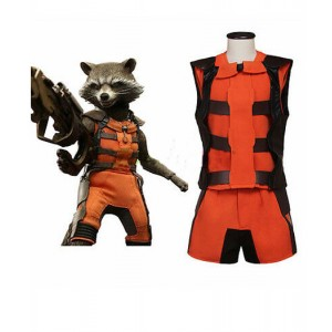 Guardians Of The Galaxy : Rocket Racoon Ensemble Complet Costume Cosplay Acheter