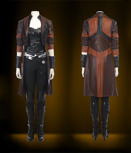 Guardians Of The Galaxy 2 : Gamora Ensemble Complet Costume Cosplay Acheter