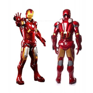 The Avengers : Iron Man Tenue De Combat Cosplay