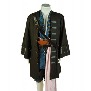 Pirates of the Caribbean : Masculin Jack Sparrow Meilleur Costume Cosplay