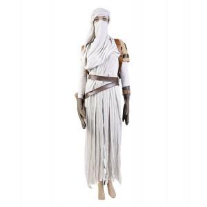 Star Wars : France Blanc Full Set Rey Costume Cosplay Acheter