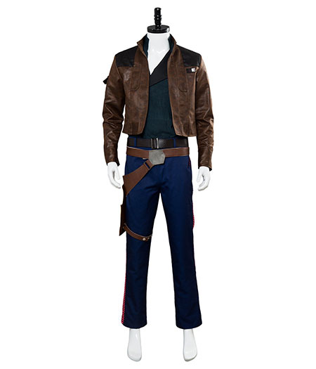 Star Wars : Brown Full Set Han Solo Costume Cosplay Acheter