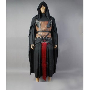 Star Wars : Haute Qualité Darth Revan Noir Costume Cosplay