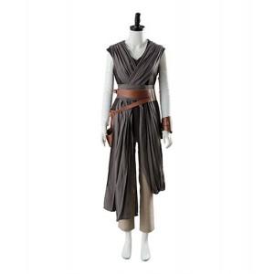 Star Wars VIII : Rey Gris Costume Cosplay Acheter Pas Cher