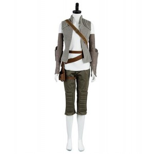 Star Wars VIII : France Rey Manteau Costume Cosplay Acheter Pas Cher