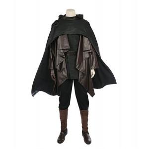 Star Wars VIII : Skywalker Luke Noir Ensemble Complet Costume Cosplay Acheter