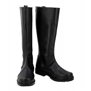 Star Wars : Noir Long Boots Han Solo Cosplay Achat