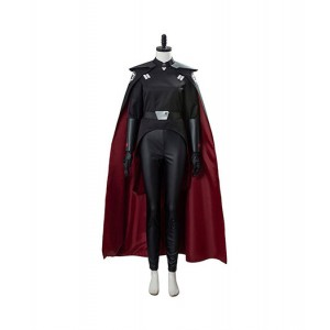 Star Wars : Femmes Jedi Knight Sister Cosplay Noir Long Cape Costume Vente Pas Cher