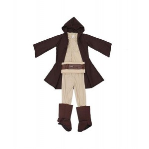 Star Wars : Full Set Obi Wan Kenobi Enfant Costume Cosplay