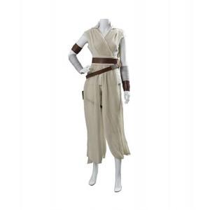 Star Wars IX : Rey Cosplay Gris Costume Vente Pas Cher