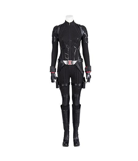 Avengers: Endgame Black Widow Noir Costume De Combat Cosplay