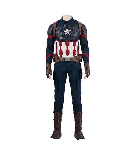 Avengers : Endgame Captain America Costume De Combat Cosplay Acheter Pas Cher