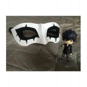 The Joker 2019 : Joker Noir Et Blanc Masque Cosplay Accessoire