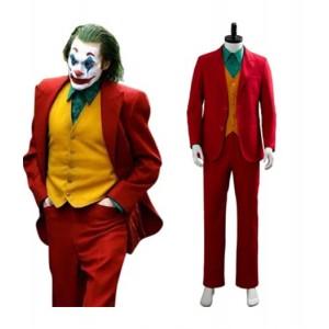 The Joker 2019 : Populaire Joker Rouge Arthur Fleck Costumes Cosplay Achat