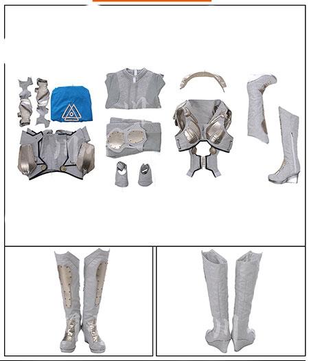 Thor: Ragnarok Costume Valkyrie Ensemble Comple Cosplay