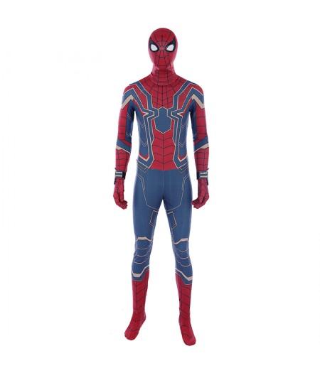 Avengers: Infinity War Costume De Combat En Acier PourSpider-Man Vente Pas Cher