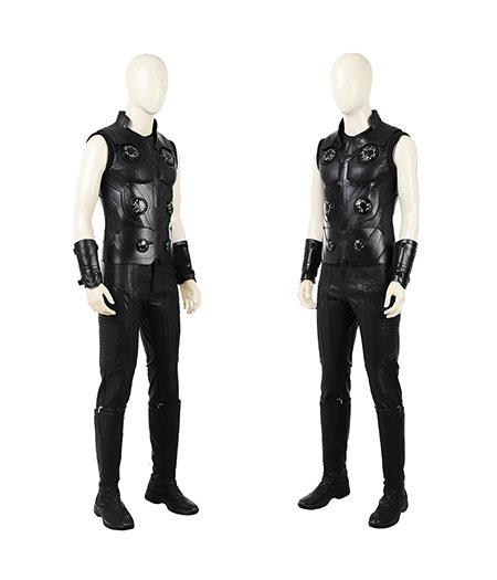 Avengers: Infinity War Full Set Thor Gilet Costume Cosplay