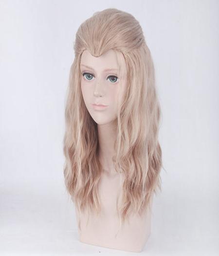 Avengers: Age Of Ultron Cheveux Bouclés Wig Thor Linge Mi-Long Cosplay Vente Pas Cher