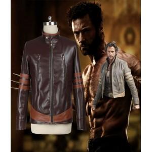X-Men : Costume Wolverine Veste En Cuir Cosplay Vente Pas Cher