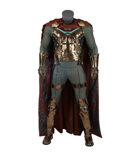 Spider-Man : Far From Home : Ensemble Complet Mysterio Du Même Costume Pour Le Film Cosplay