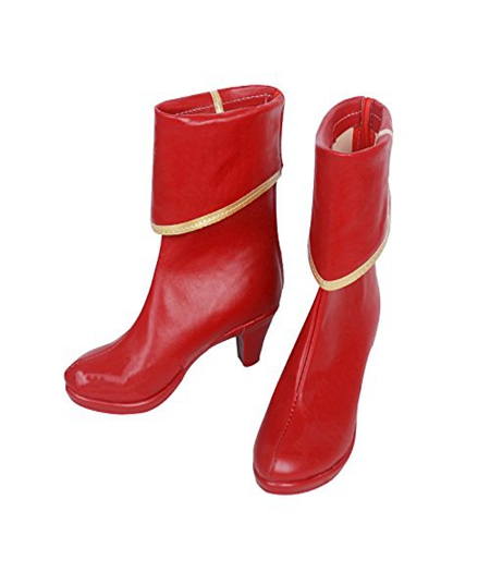 Fate/Grand Order : Achat Mordred Rouge Boots Cosplay