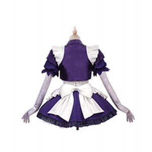 Fate/Grand Order : Joan of Arc Maid Uniform Cosplay Costume Girls Cute Robe
