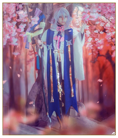 Fate/Grand Order : Caster Merlin Ensemble Complet Costume Cosplay