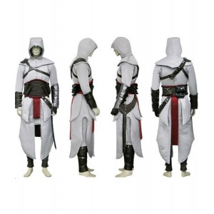 Assassin's Creed : Haute Qualité Altair Ibn-La'Ahad Costume Cosplay