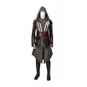 Assassin's Creed : Ezio Auditore Coupe Vent Manteau Costume Cosplay