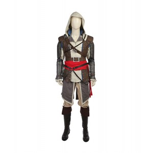 Assassin's Creed : Black Flag Edward James Kenway Manteau Costume Cosplay