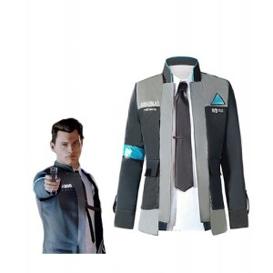 Detroit : Become Human Connor RK800 Mode Costume Cosplay Vente Chaude