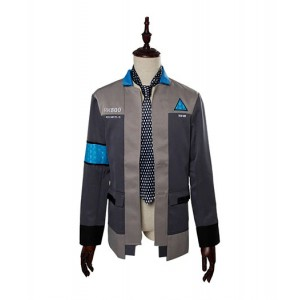 Detroit : Become Human Connor RK800 Agent Veste Cravate Costume Cosplay Achat