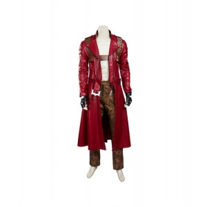 Devil May Cry 3 : Dante Rouge Manteau Costume Cosplay Acheter